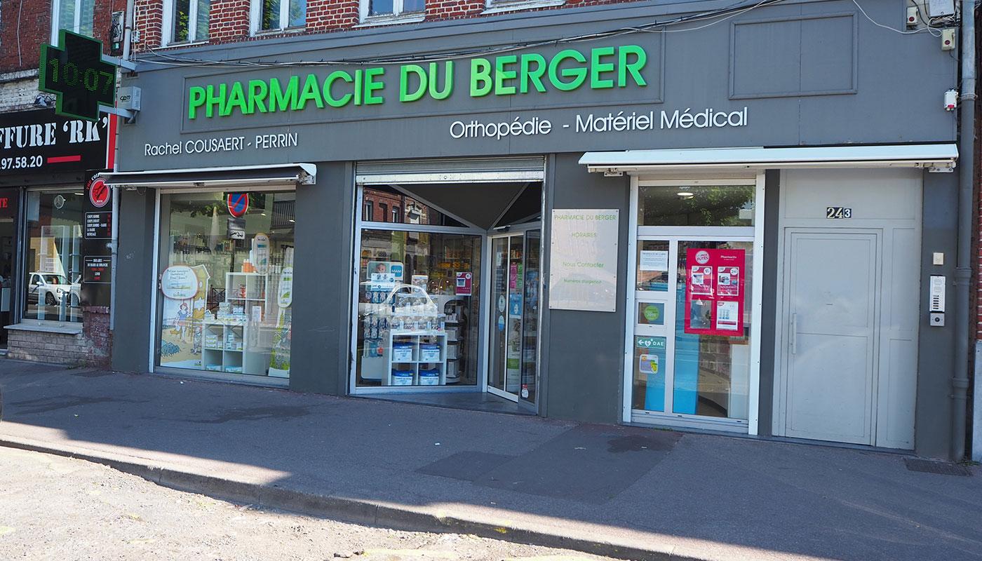 Pharmacie du Berger à Lille Fives Hellemmes